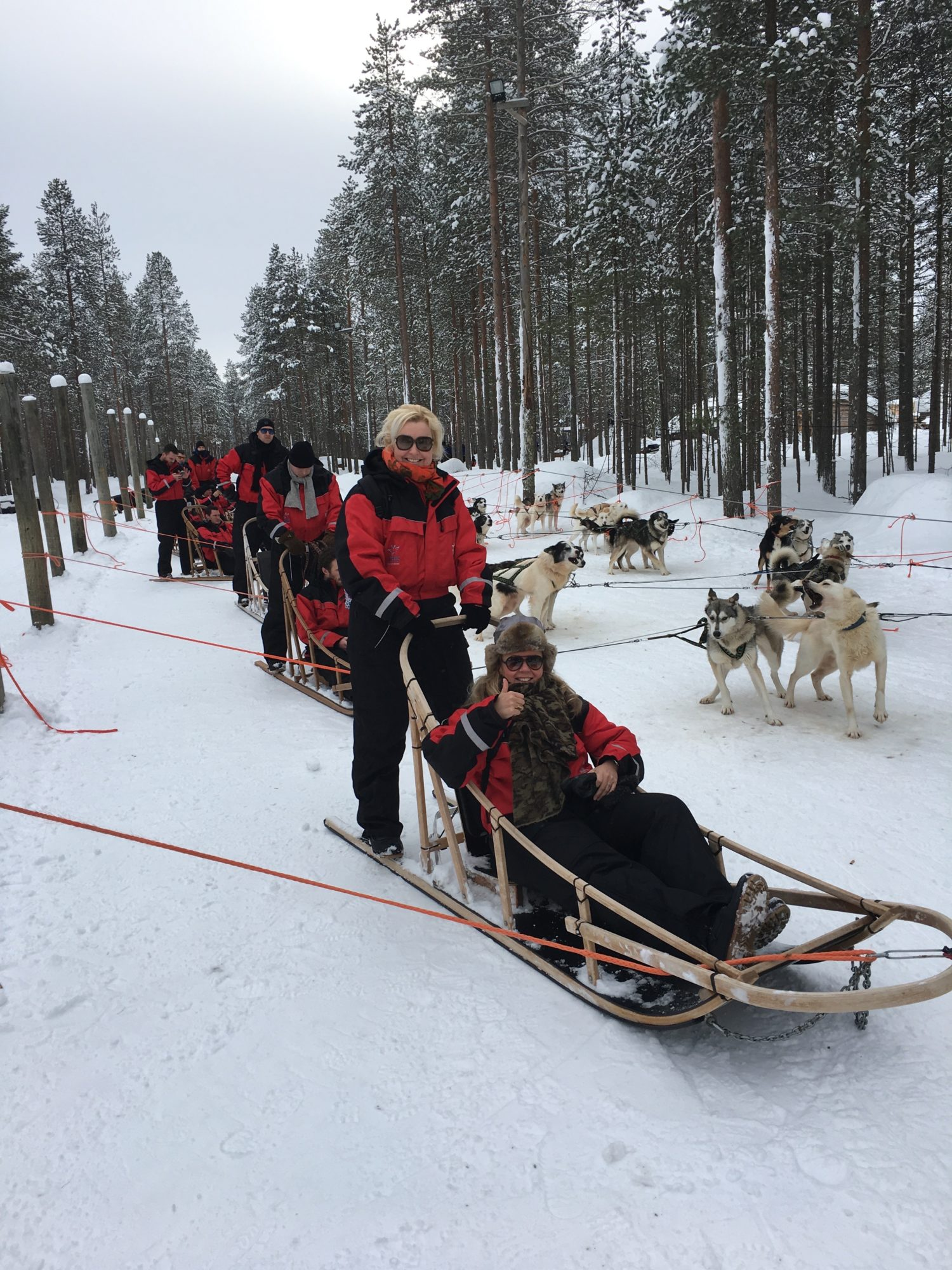 Bedrijfsuitje Lapland 2