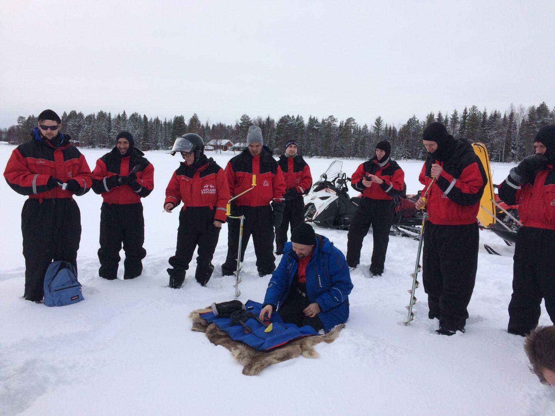 Bedrijfsuitje Lapland 8