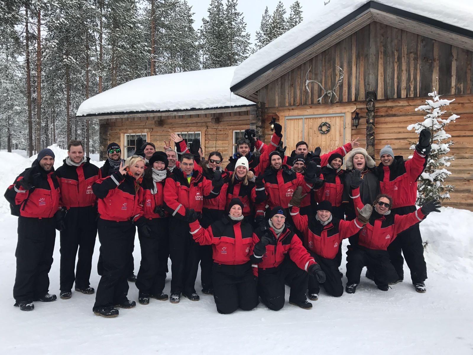 Bedrijfsuitje Lapland 12